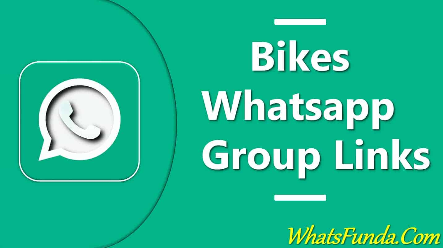 Bikes Whatsapp Group Links
