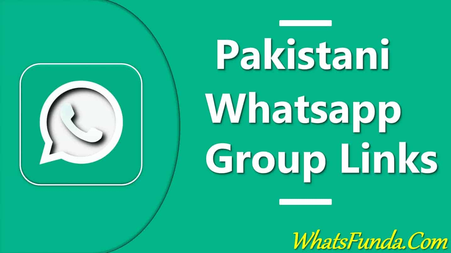 Pakistan whatsapp group links