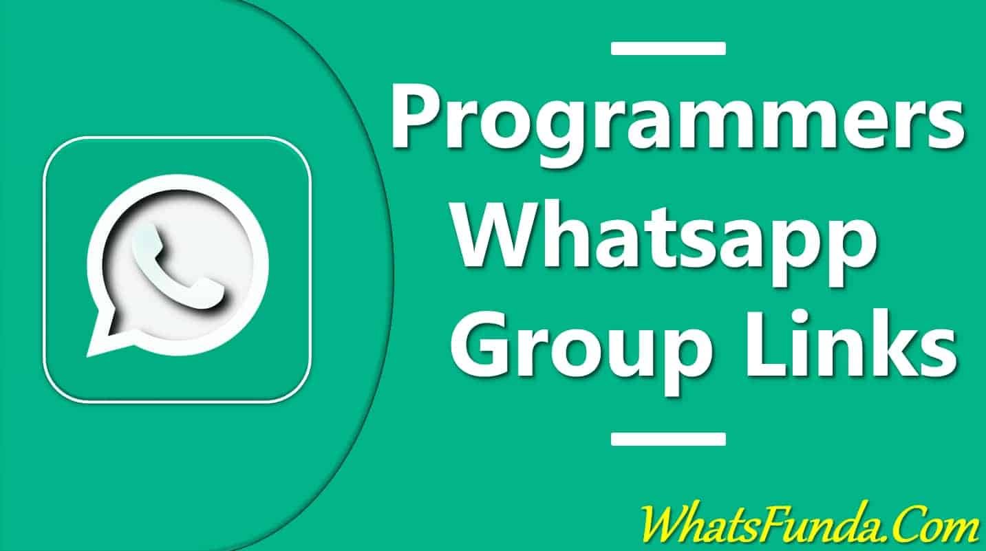 Programmers Whatsapp Group Links