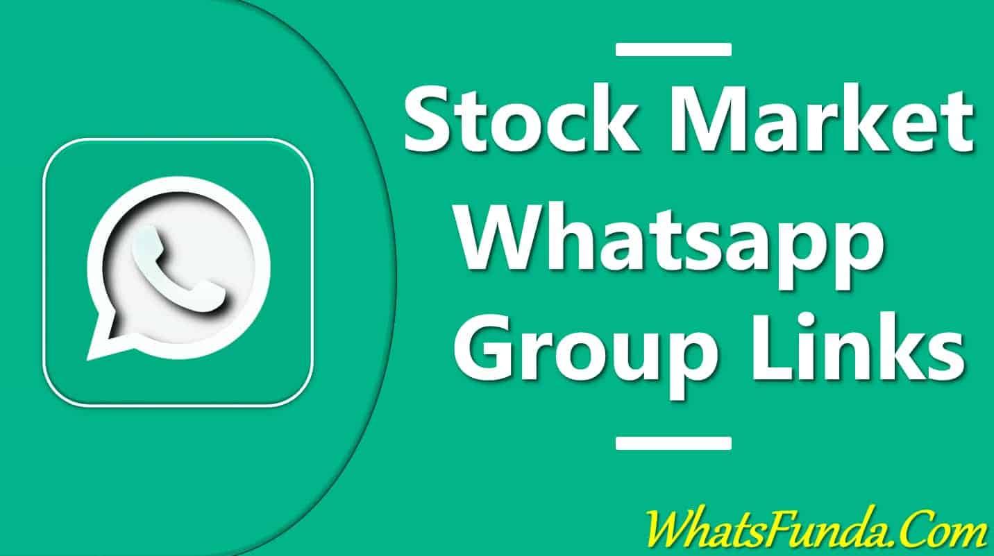 Stock Market Whatsapp Group Links