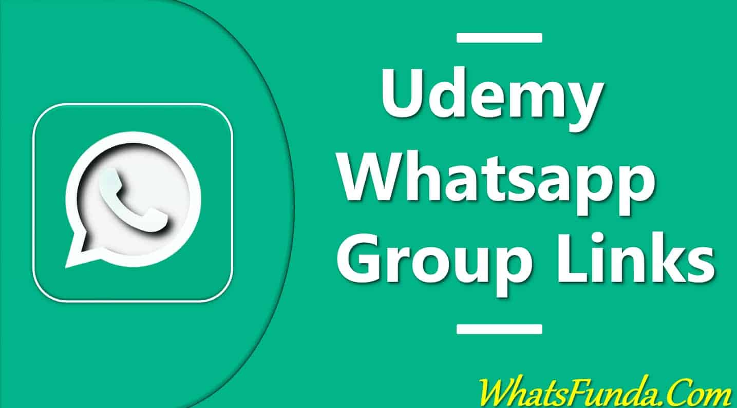 Udemy Whatsapp Group Links