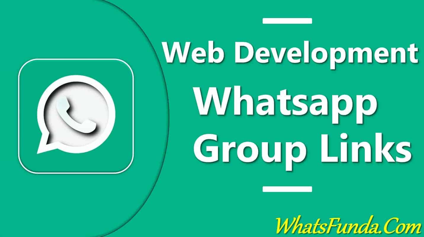 Web Development Whatsapp Group Links