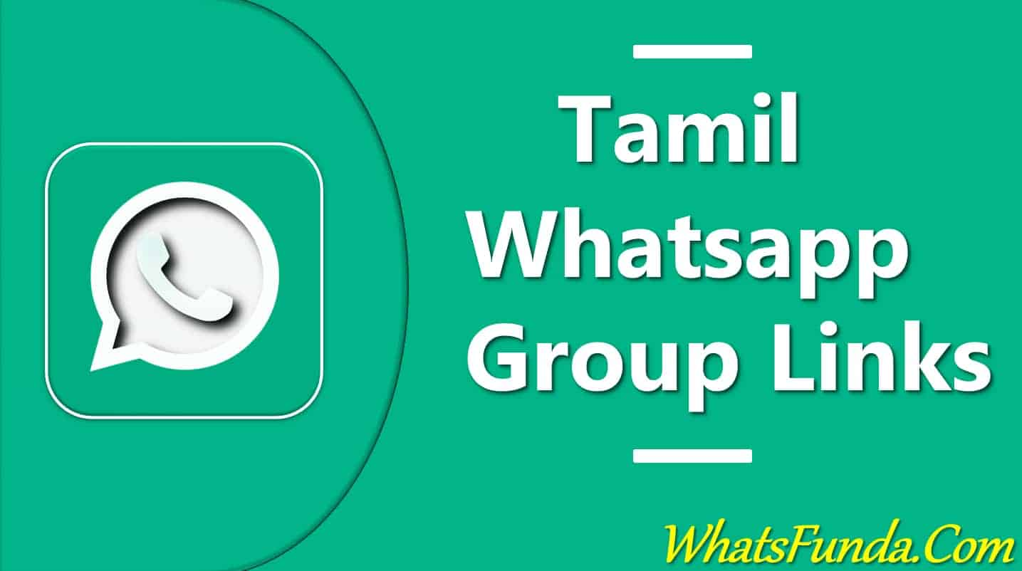 Tamil Whatsapp Group Links