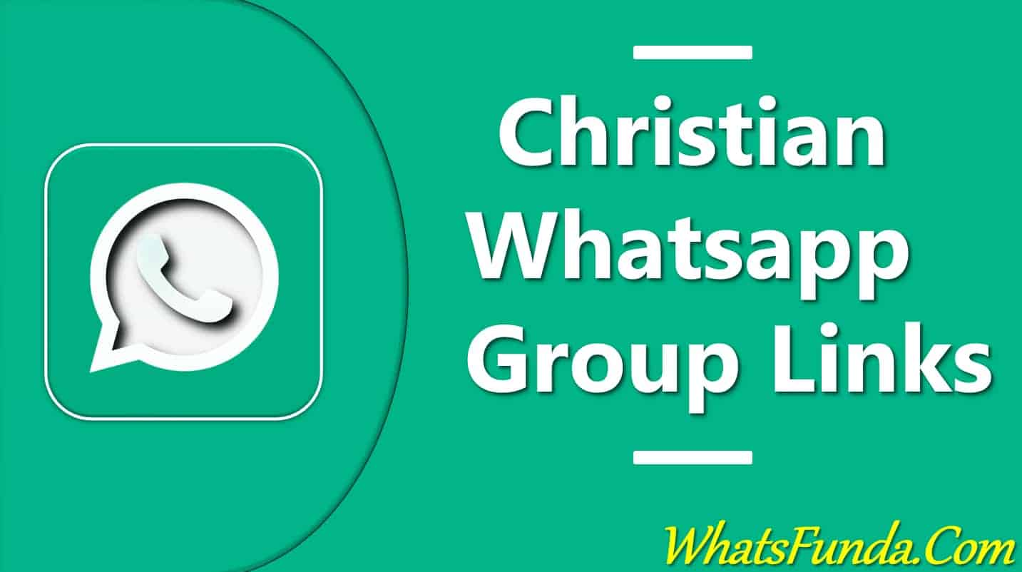 Christian Whatsapp Group Links