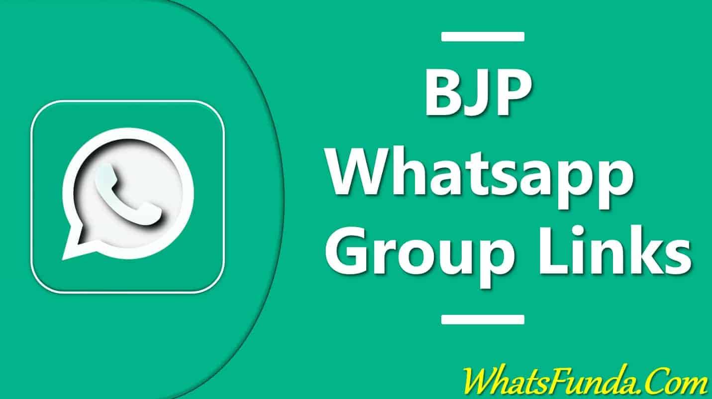 BJP Whatsapp Group Join Link