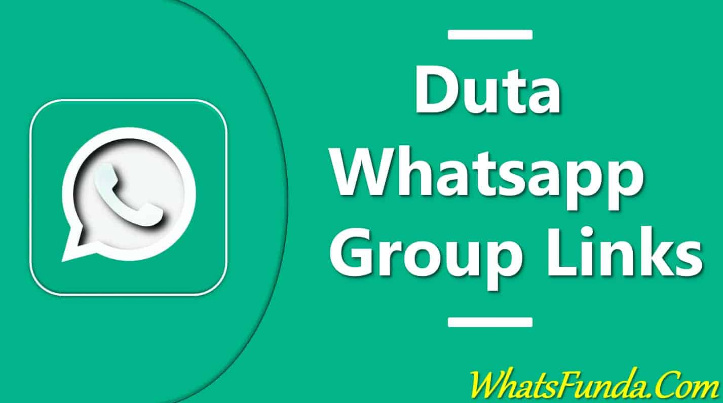 Duta Whatsapp Group Link