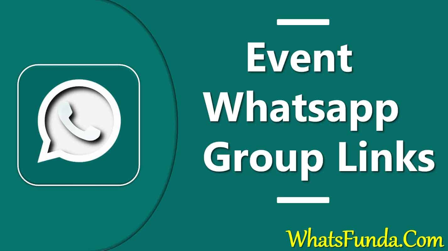 Event Whatsapp Group Link