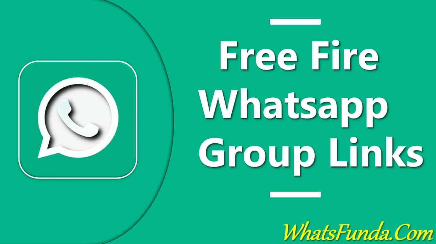 Free Fire Whatsapp Group Links