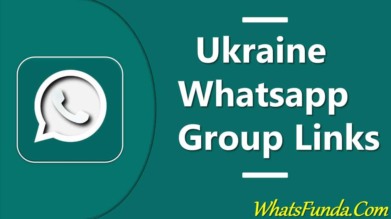 Ukraine Whatsapp Group Link