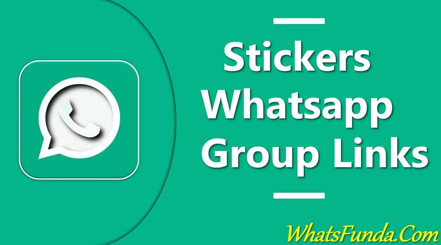 Whatsapp Sticker Group Links
