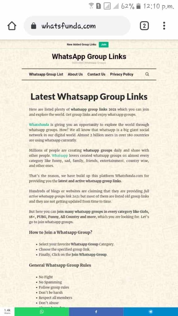 Visit Whatsfunda.com